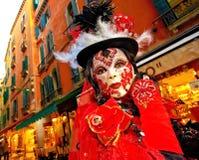 Schablone in Venedig lizenzfreie stockbilder