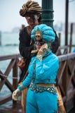 Schablone in Venedig, Italien Stockfotos