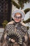 Schablone in Venedig, Italien Lizenzfreie Stockfotografie