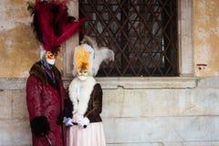 Schablone in Venedig, Italien Stockfoto