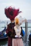 Schablone in Venedig, Italien Stockfotografie