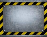Schablone von Metallplatten Lizenzfreie Stockfotografie