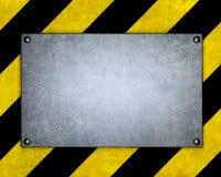 Schablone von Metallplatten Lizenzfreies Stockbild