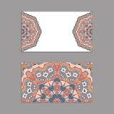 Schablonen für den Gruß und Visitenkarten, Broschüren, Abdeckungen mit Blumenmotiven Lizenzfreies Stockfoto
