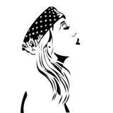 Schablonen-Frauen Lizenzfreie Stockfotografie