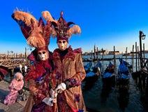 Schablonen in Venedig, Italien lizenzfreie stockfotos
