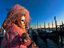 Schablonen in Venedig, Italien stockfotografie