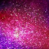 Schablonenentwurf auf dem purpurroten Funkeln. ENV 10 Lizenzfreie Stockfotografie