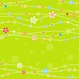 Schablonengrußkarte, Vektor Lizenzfreie Stockbilder