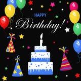 Schablonenkarte für Einladungen, Geburtstag, für Design, Anzeige, Farbe, bunt, Feiertag, Gruß, Bucheinband, Elemente für Winkel d Stockbild