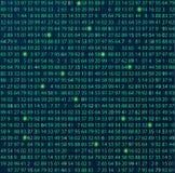 Schablonenkodierungs- und -programmierungsthema Stockbild