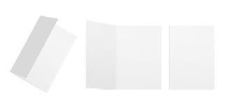 Schablonenpostkarten stock abbildung
