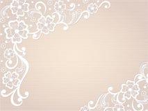 Schablonenrahmenentwurf für Karte. Stockbild