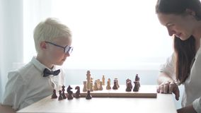 Schach stock video
