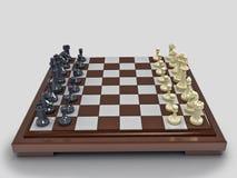 Schach 1 lizenzfreie abbildung