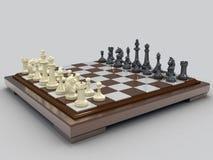 Schach 3 lizenzfreie abbildung