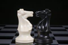 Schach adelt vertrauliches Lizenzfreie Stockbilder