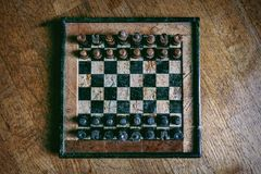 Schach aus dem Ausland Stockfotos