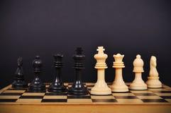 Schach-Brett mit Schach stockbilder