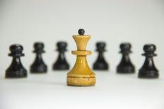 Schach führer lizenzfreies stockbild