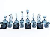 Schach flexibel Stockfoto