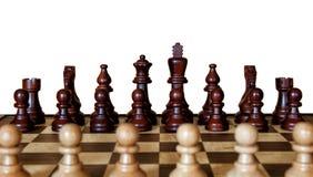Schach-Gegner Lizenzfreie Stockbilder