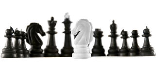 Schach getrennt Stockfotografie
