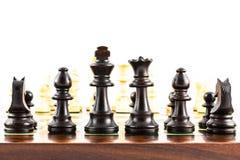 Schach-Herausforderung lizenzfreies stockbild