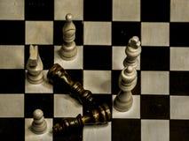 Schach nach Gewinn Stockbild
