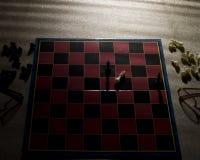 Schach-Niederlage stockfotos