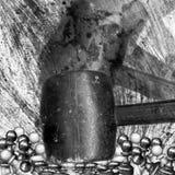 Schach-Pfandgegenstände lizenzfreie stockfotos
