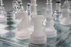 Schach - Schach Lizenzfreie Stockbilder