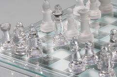 Schach - Schach Stockbild