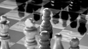 Schach Schwarzweiss lizenzfreie abbildung
