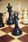 Schach-Spiel Stockfotografie