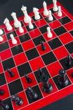 Schach-Spiel Lizenzfreie Stockfotografie