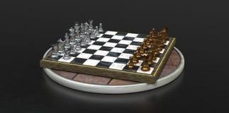 Schach-Spiel Stockbild