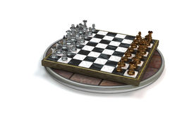 Schach-Spiel Stockfotos