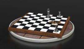 Schach-Spiel Stockbilder