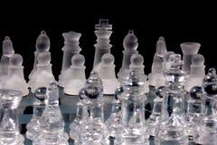 Schach-Spiel lizenzfreie stockbilder