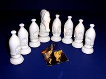 Schach-Stücke Lizenzfreie Stockfotografie