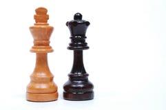 Schach-Stücke Lizenzfreies Stockbild