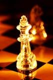 Schach-Stücke Stockfotografie