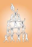 Schach stellt Bischöfe dar Lizenzfreie Stockbilder