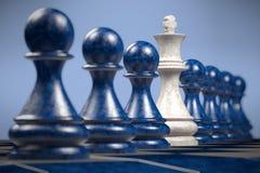 Schach: unterschiedlich Stockfotografie