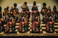 Schach von inkas stockfotos