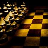 Schach-Vorstand Stockfotos
