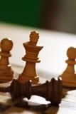 Schachabgleichung Stockfoto