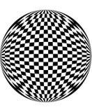 Schachbretmuster lizenzfreie abbildung