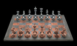 Schachbrett Stockfoto